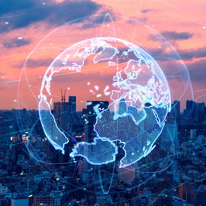 グローバル化が進んでいる